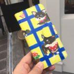 SUZURIで作ったウオレットケースが届きました