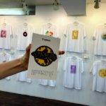 『Tシャツ展』外苑前ギャラリーDAZZLE